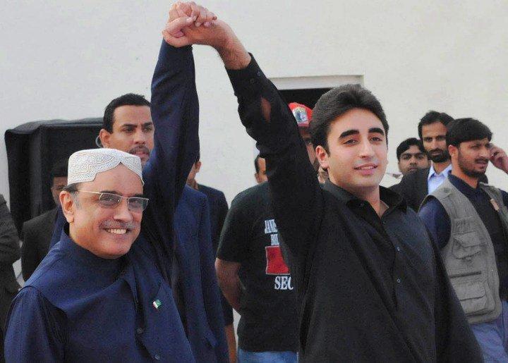 asif zardari and bilawal bhutto zardari photo pid