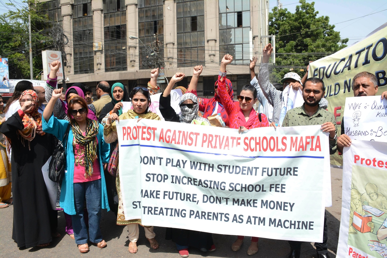 fed up teachers teachers to stage protest outside chief minister house