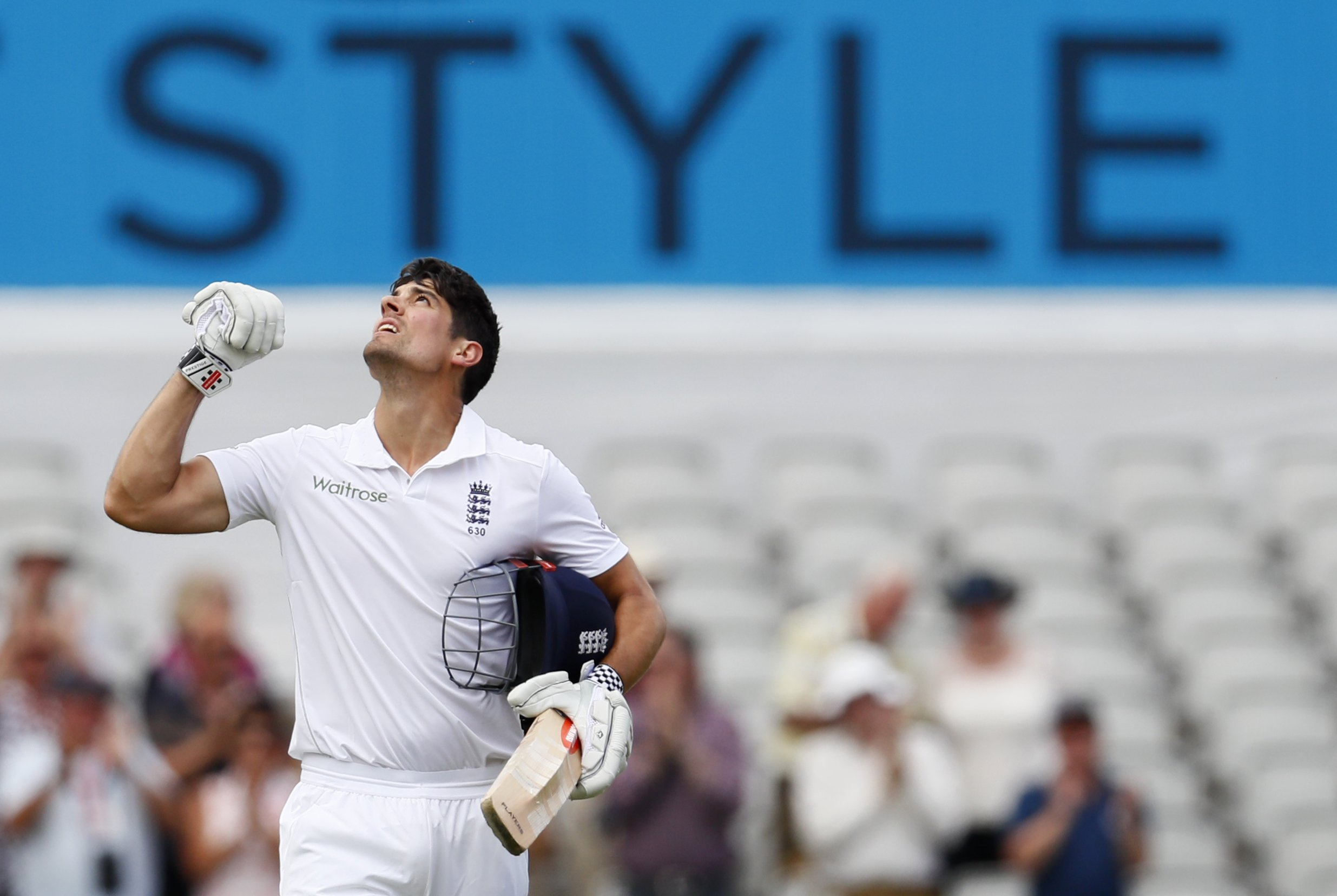 strauss believes cook can prosper without captaincy