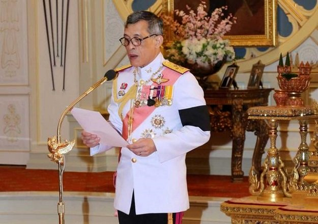 thailand 039 s new king maha vajiralongkorn bodindradebayavarangkun speaks as he accepts an invitation from parliament to succeed his father king bhumibol adulyadej who died in october at the dusit palace in bangkok thailand december 1 2016 photo reuters