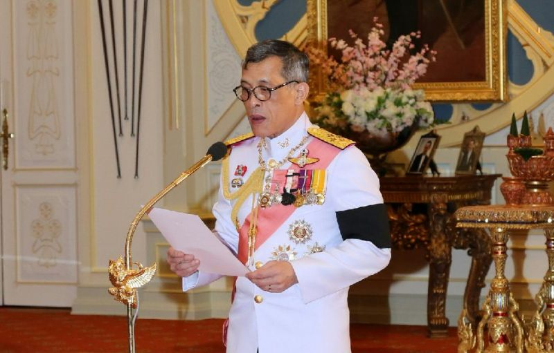 thai crown prince maha vajiralongkorn ascended to the throne after a ceremony in bangkok on december 1 2016 photo afp
