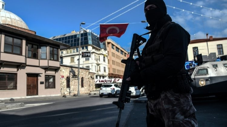 the operation around the country saw suspects detained from sanliurfa ankara and bursa photo afp