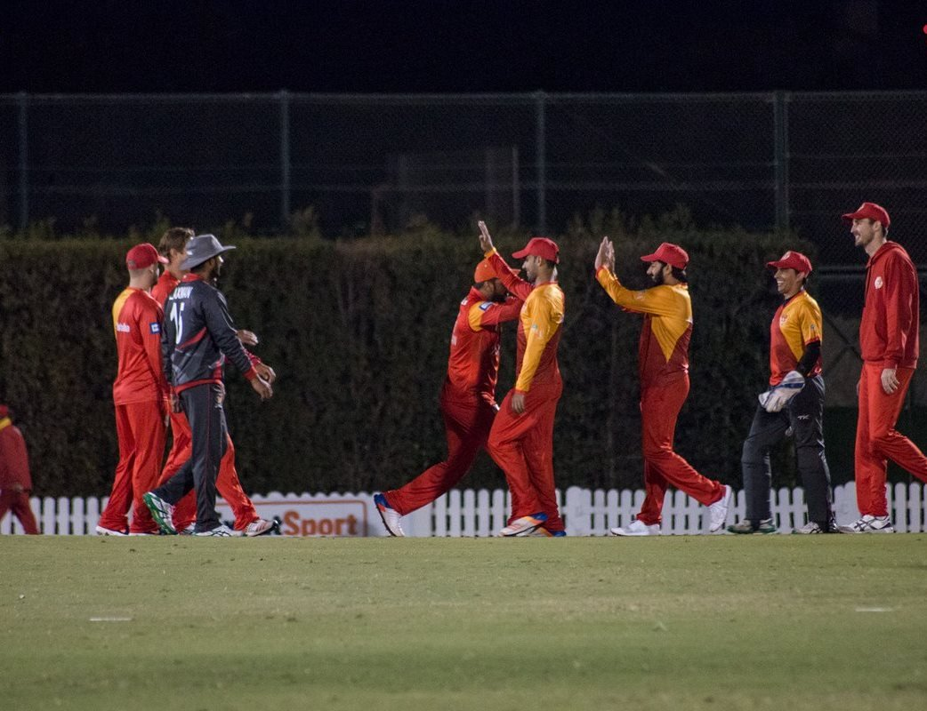 islamabad under captain misbahul haq beat quetta gladiators in the final of the inaugural edition by six wickets to take home the shooting star trophy photo courtesy islamabad united