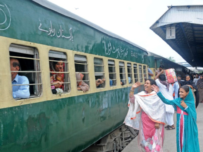a senior official of the pakistan railways said the department had improved its quality and timings through continuous efforts and passenger friendly policies photo mohammad azeem express