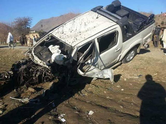 child killed three injured in bajaur ied blast