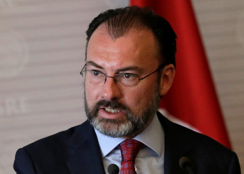 mexico 039 s foreign minister luis videgaray gives a speech to the media in mexico city mexico february 3 2017 photo reuters