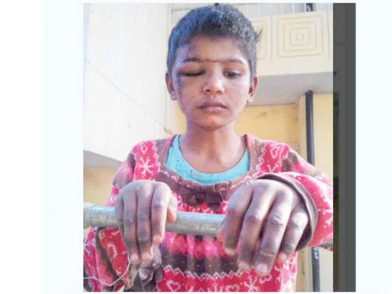 10-year-old Tayyaba. PHOTO: FILE