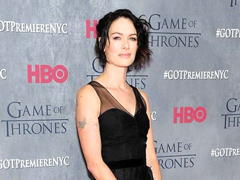 lena headey plays queen cersie lannister in the hbo series photo file