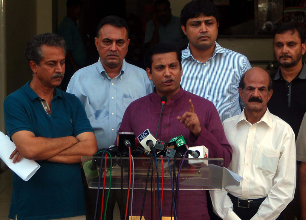 there is a difference between bogus and unverified votes people quoted the unverified votes to be fake says mqm politician faisal sabzwari photo ppi