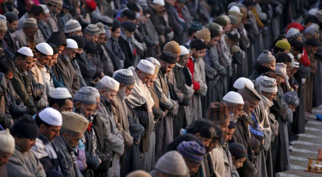 prof thomas blom hansen delivers lecture on how muslims became india s poorest community photo reuters