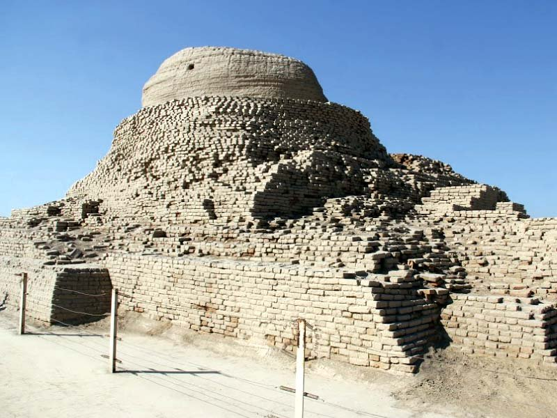 The three-day conference at Mohen Jo Daro, currently under way, is focusing on the protection and preservation of the most ancient civilisation. PHOTO: AYESHA MIR/ EXPRESS
