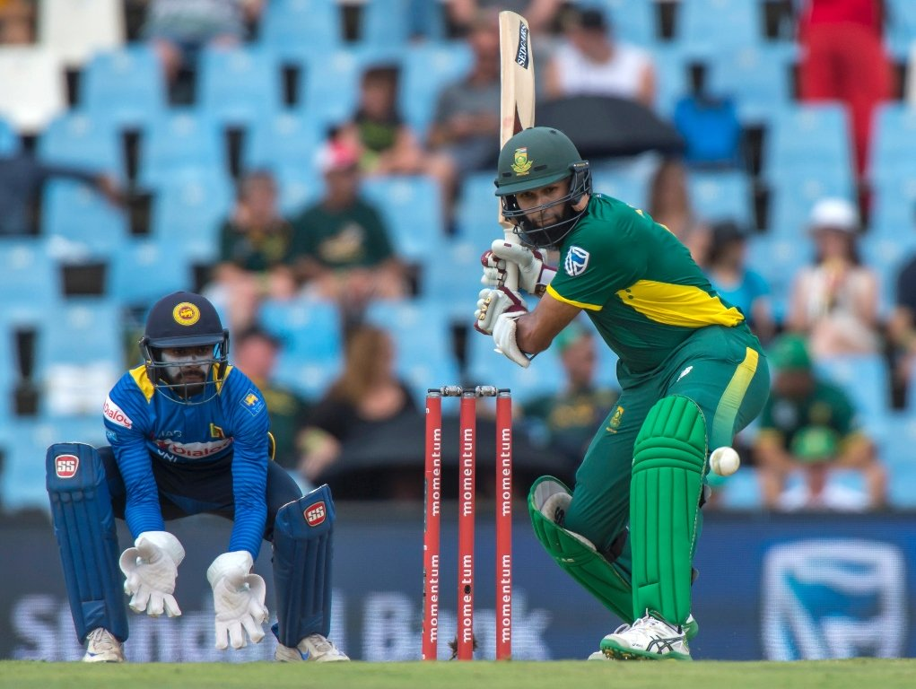 hashim amla plays a shot at supersport park cricket ground on february 10 2017 photo afp