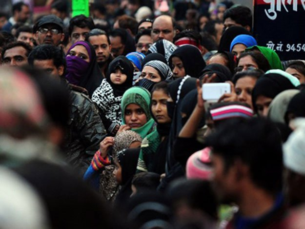 the figures show that growth rate of muslims in india is higher than that of hindus during 2001 2011 photo afp