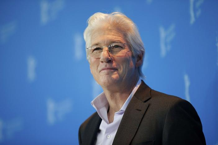 actor richard gere poses during a photocall to promote the movie 039 the dinner 039 at the 67th berlinale international film festival in berlin germany february 10 2017 reuters axel schmidt