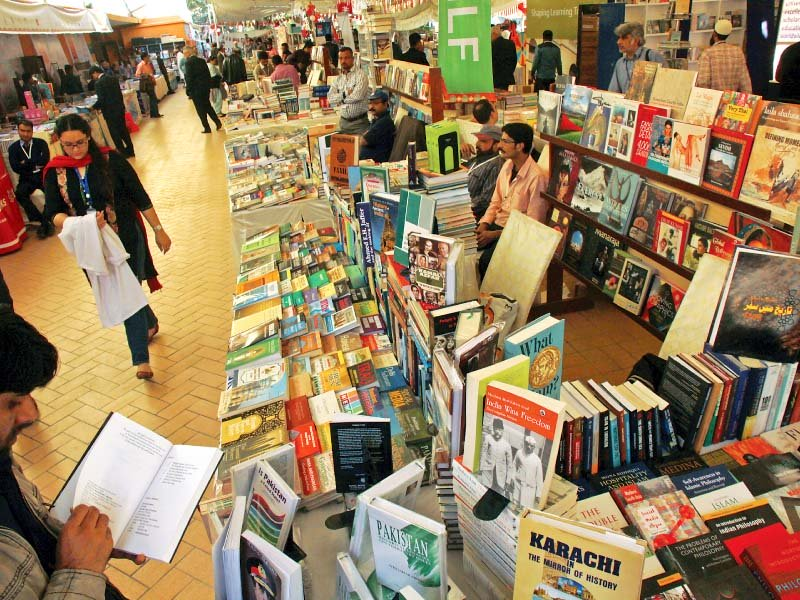 many stalls at the 8th klf offered attractive discounts for book lovers photo athar khan express