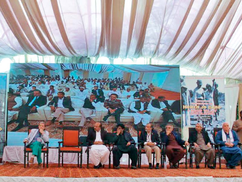 the three day international conference on mohen jo daro the first major conference to be held in mohen jo daro since 1973 concluded on saturday photo ayesha mir express