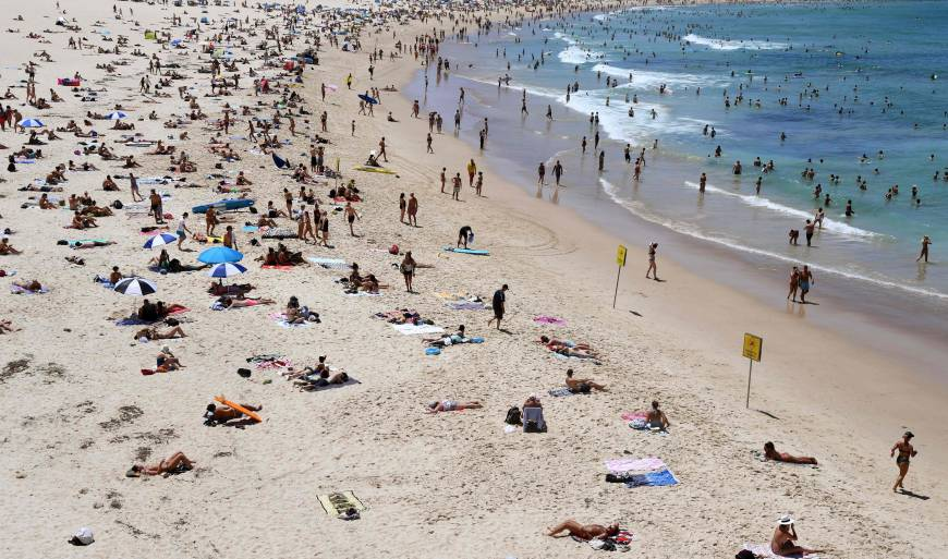 australia has warmed by approximately 1 0 c since 1910 according to official data photo afp
