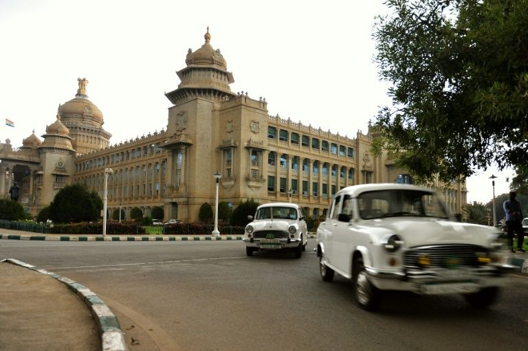 the curvy ambassador once ruled india 039 s roads and for years was the only car driven by politicians and senior government officials photo afp