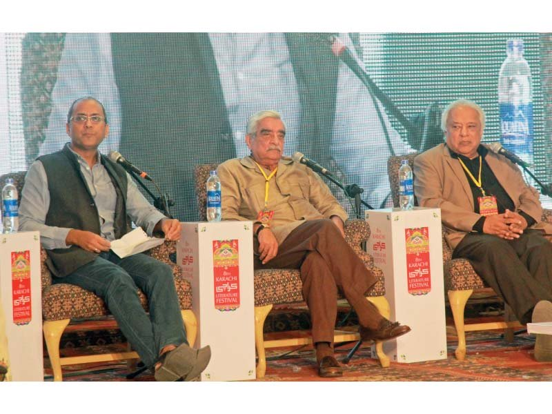 speakers said sindhi speakers want to control karachi via a centralised form of government photo athar khan express