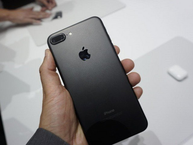 iphone 7 plus in matte black colour photo afp