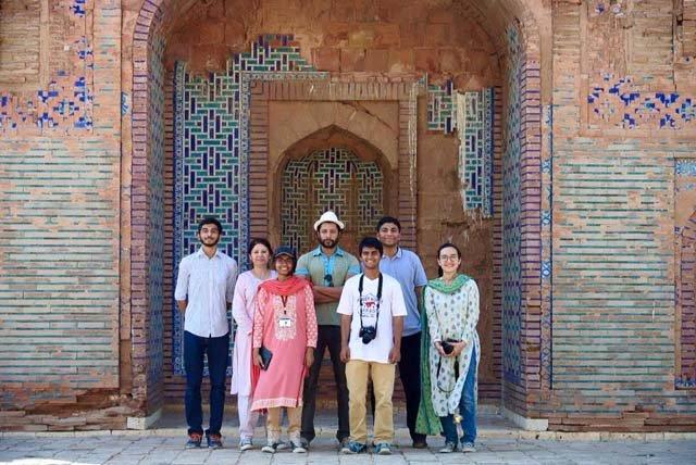 as part of cube education initiative mustafa leads edu tours to historical sites like makli ranikot mohenjodaro