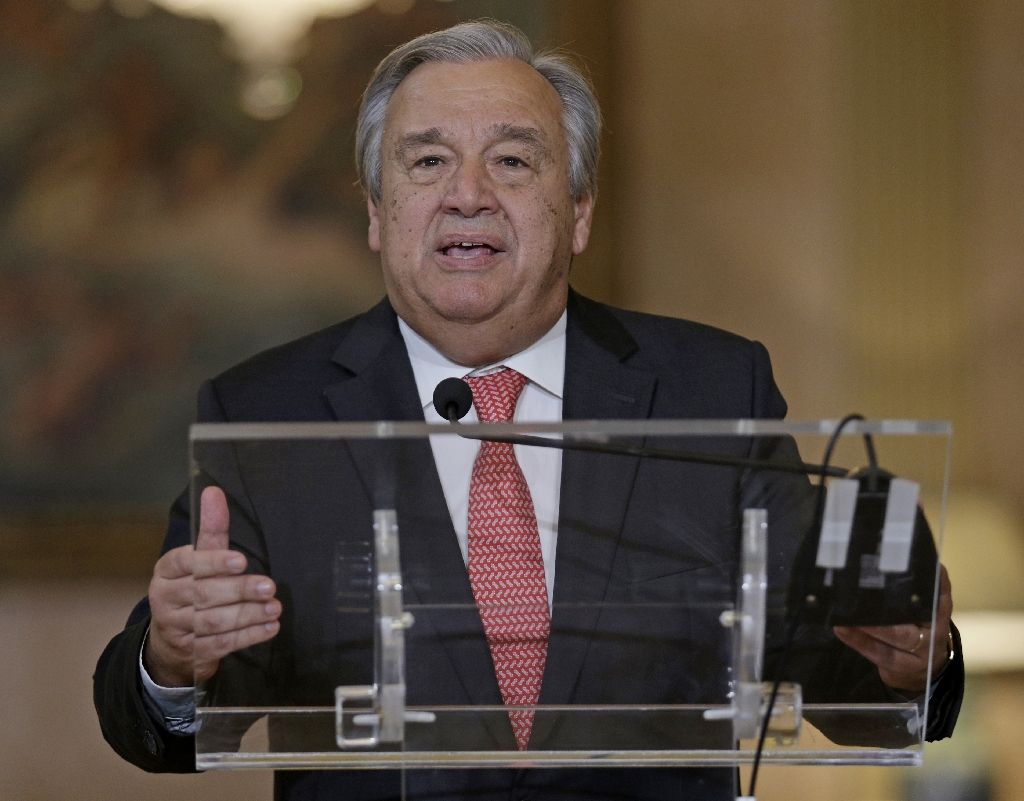 un secretary general antonio guterres photo afp