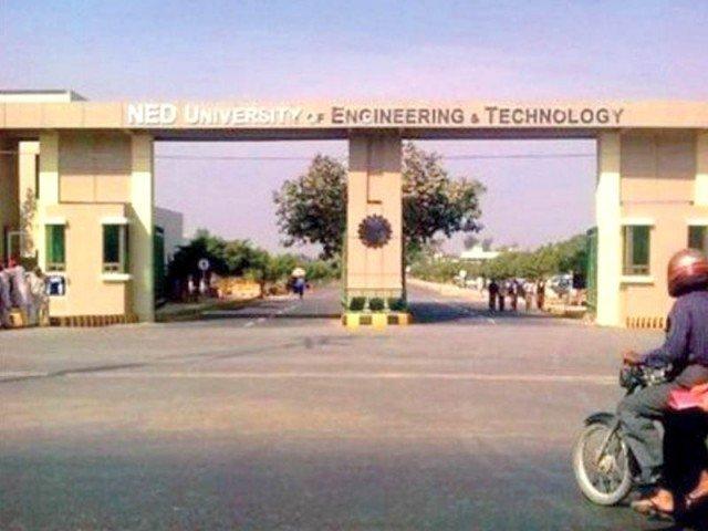 ned university in karachi photo file