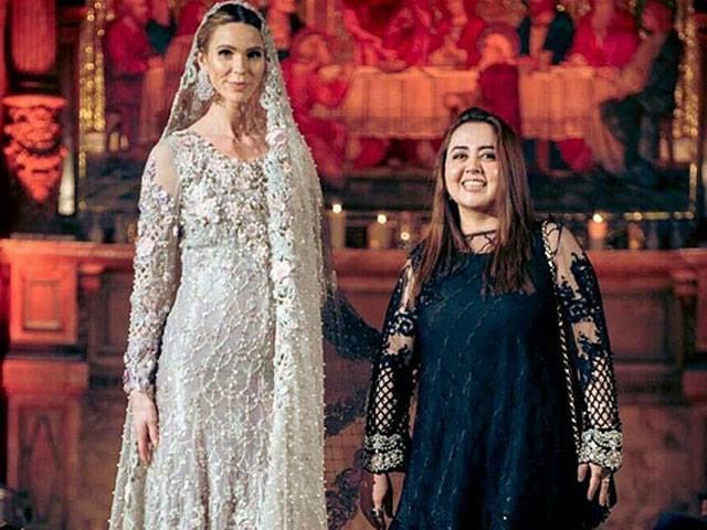 maria b goes regal at the london fashion parade
