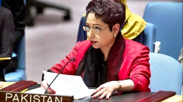 pakistan 039 s permanent representative to the un maleeha lodhi photo afp