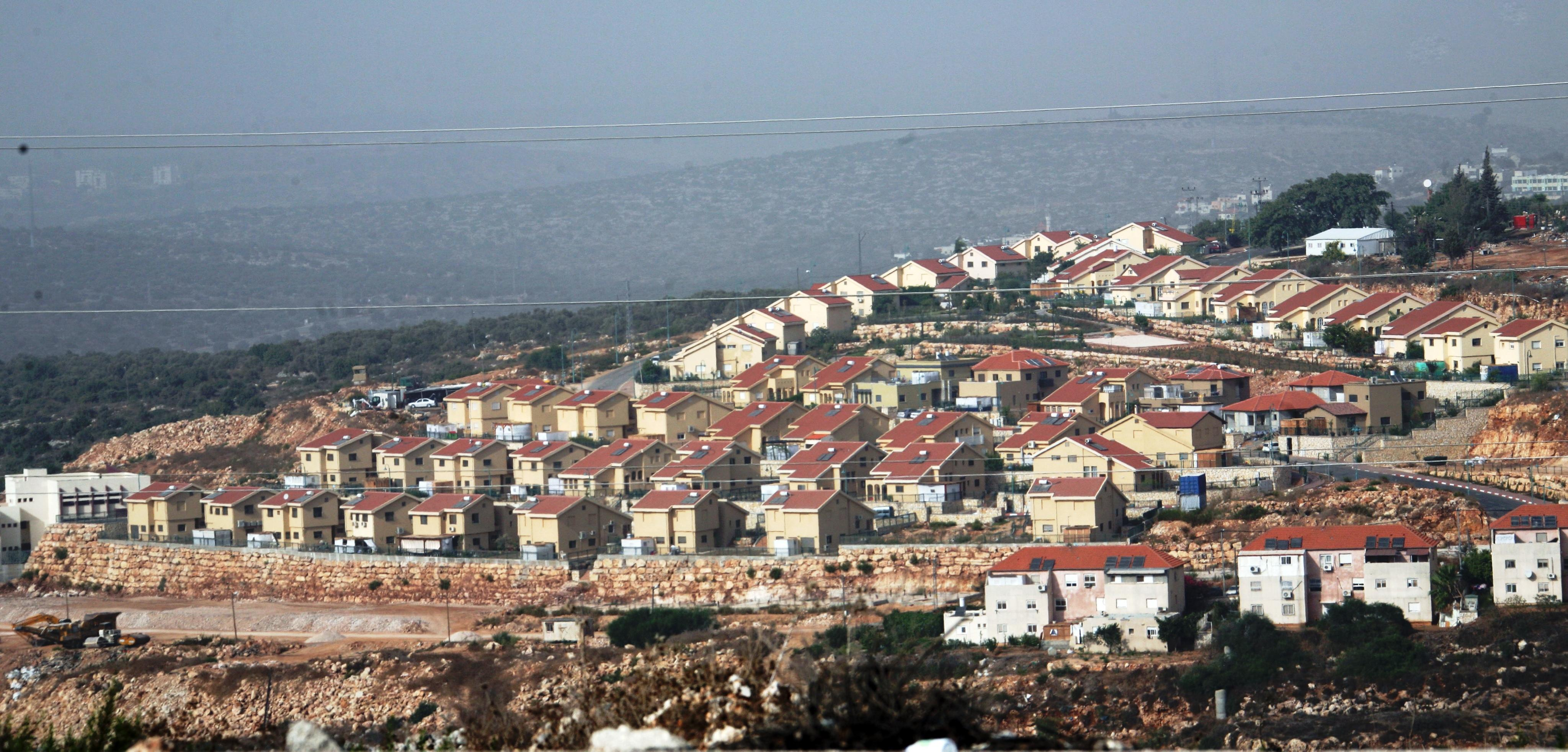general view of the jewish settlement of revava near the west bank city of nablus photo epa