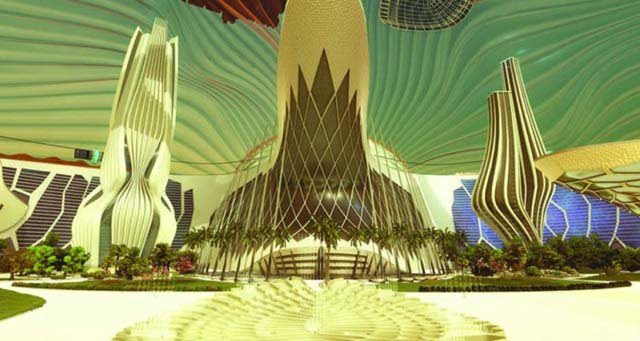 uae plans to build first city on mars
