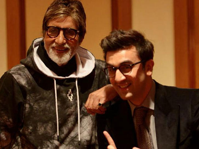 amitabh bachchan and ranbir kapoor will be seen together for the first time in ayan mukherji s dragon photo hindustan times