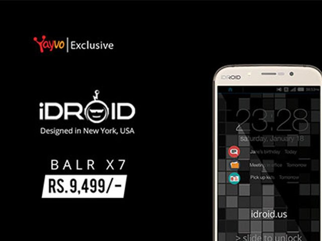 review idroid balr x7 the latest smartphone to hit the market