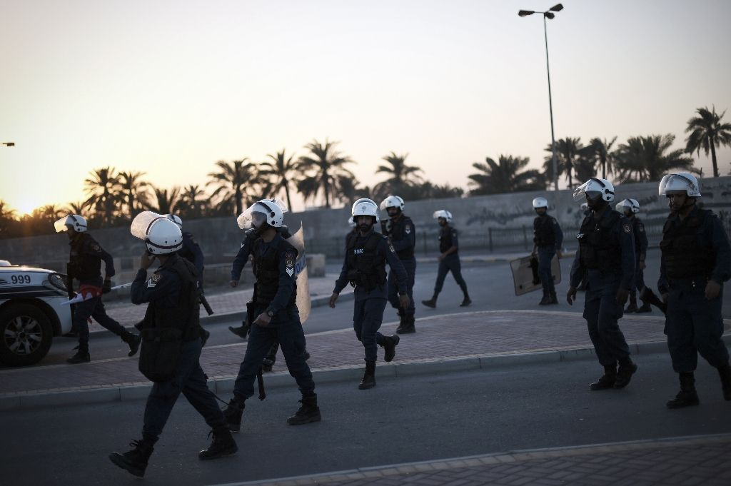 bahraini authorities have intensified their crackdown on opposition despite repeated appeals by international rights groups photo afp