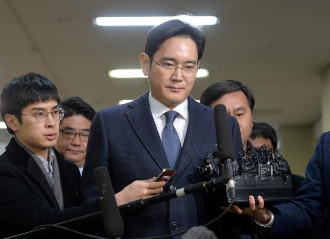 samsung group chief jay y lee photo reuters