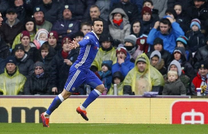 pedro could feature against wolves too after claiming he is now very happy at stamford bridge photo reuters