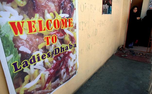 ladies dhaba karachi s little secret