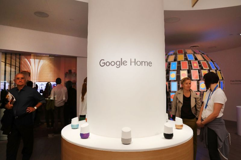 like amazon 039 s alexa google 039 s digital assistant will allow buyers to add payment information to their accounts to enable voice activated shopping photo afp