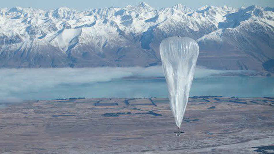 the acceleration was credited to software leaps that allow internet serving balloons to ride high altitude winds to ideal locations or loop in patterns that create consistent webs of internet coverage in the sky photo google