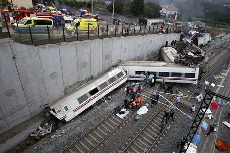 francisco garzon 52 had been under arrest since thursday a day after the worst train crash in spain in decades photo reuters