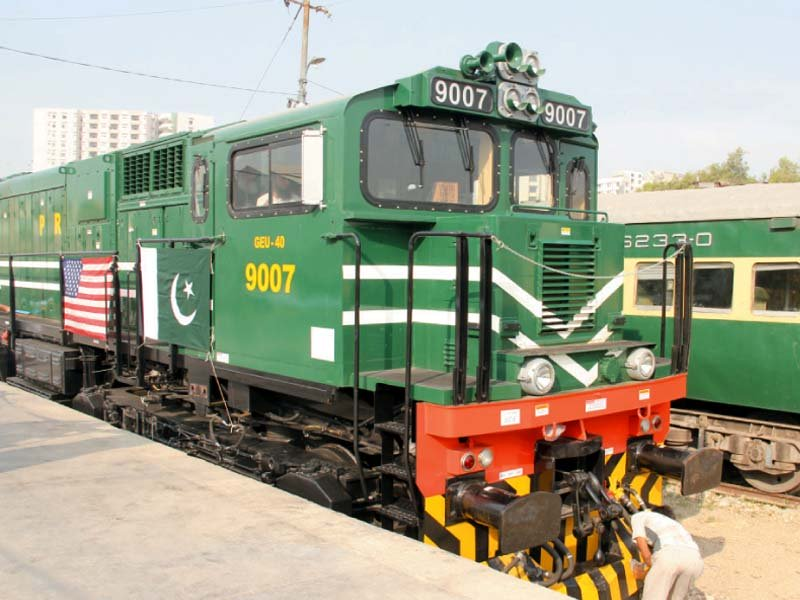 the newly arrived locomotives are fuel efficient and provide longer overhaul cycles than the ones pakistan currently has photo express ayesha mir