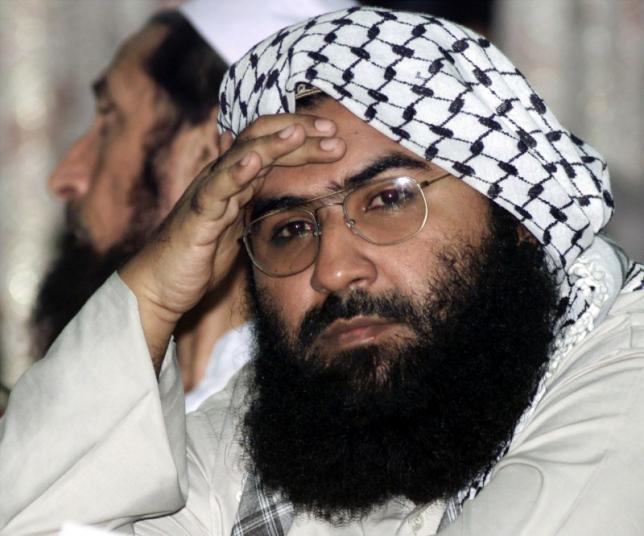 maulana masood azhar head of jaish e mohammad in islamabad on august 26 2001 photo reuters