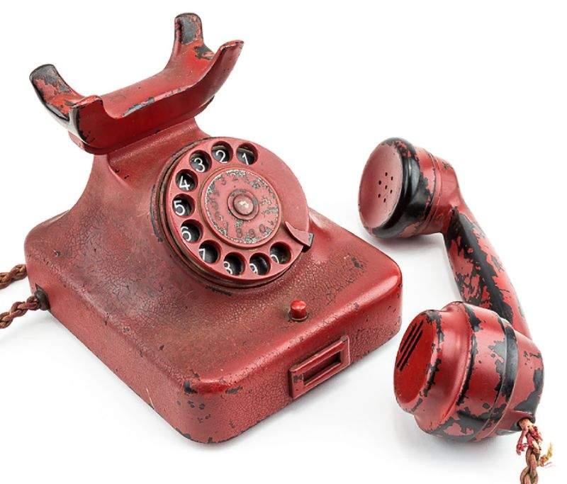 hitler s destructive wartime phone up for auction