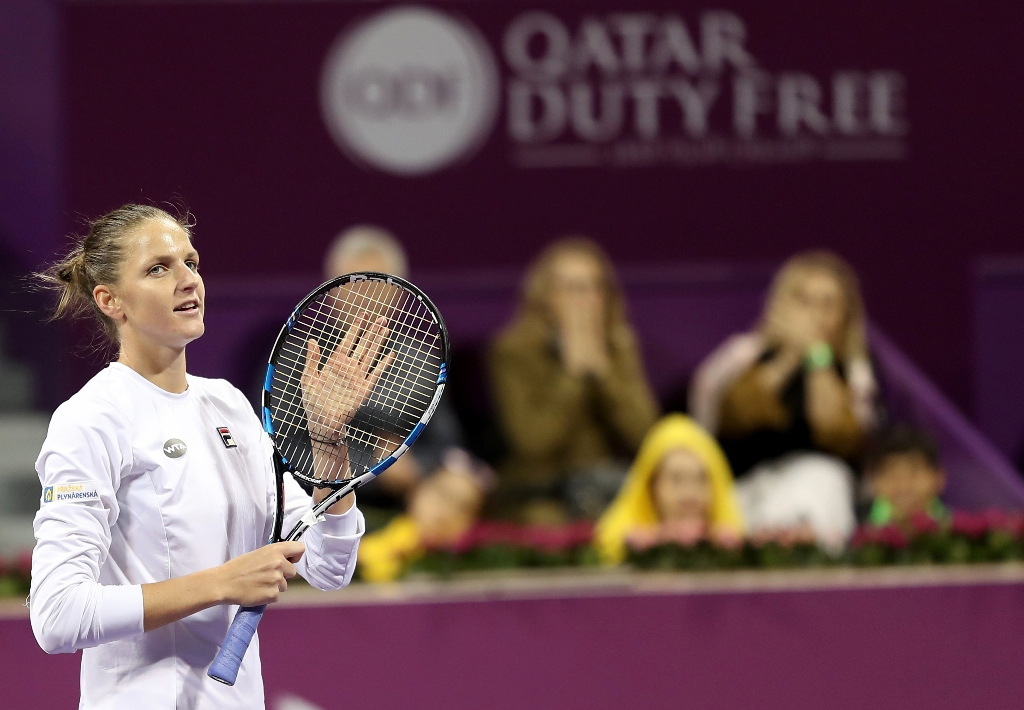 pliskova defeated cibulkova in an exciting semi final 6 4 4 6 6 3 photo afp