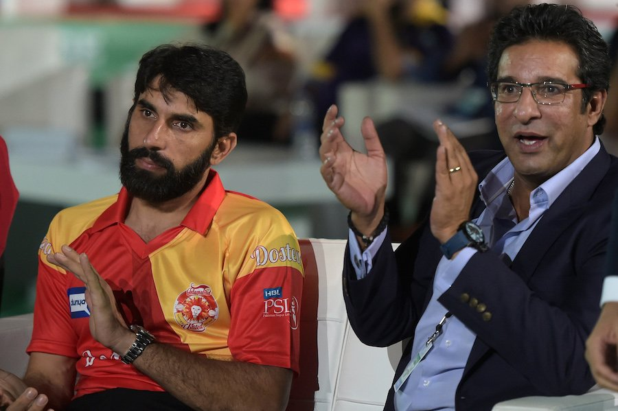 wasim akram believes mixture of youth and experience is always positive photo afp