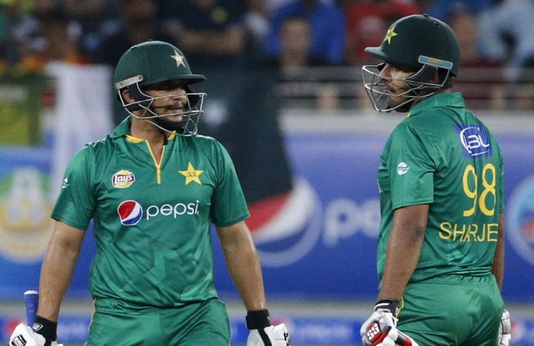 both batsmen are provisionally suspended due to corruption allegations photo afp