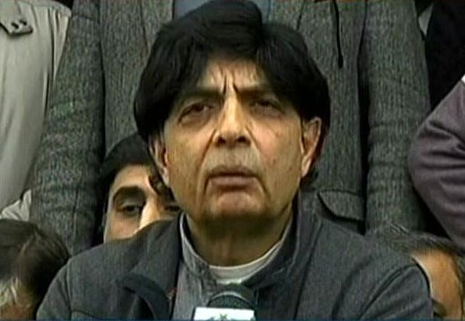 interior minister chaudhry niar ali khan speaks to media persons in islamabad on january 30 2017 express news screen grab