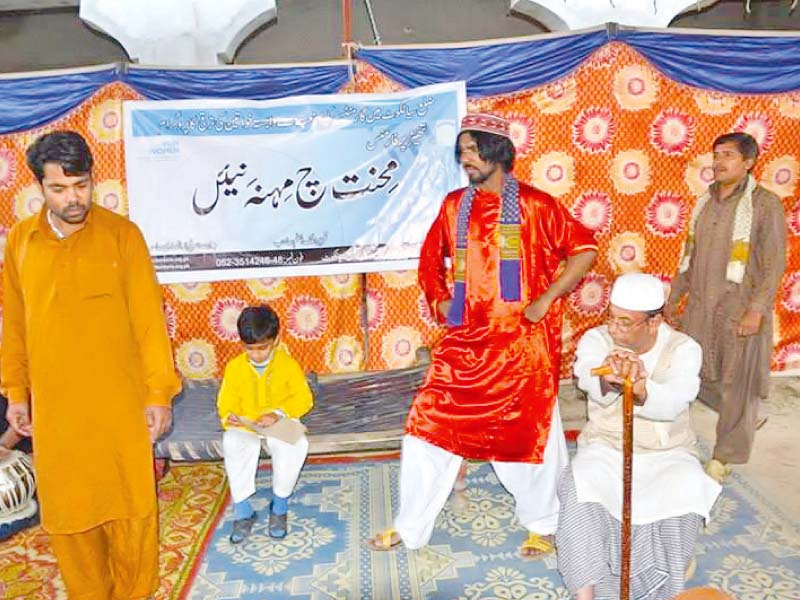street shows women empowerment through theatre in sialkot villages