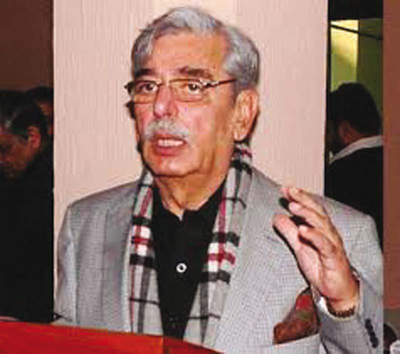 senator ilyas bilour photo file