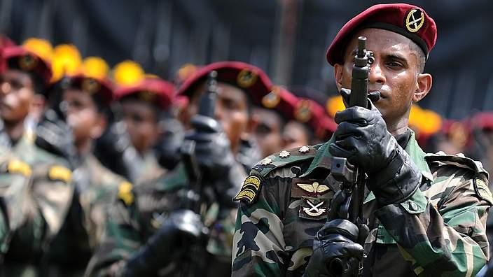 a file photo of sri lankan army photo afp